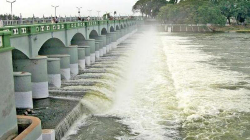 Kaveri river water dispute